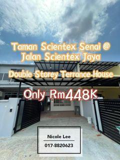 Taman Scientex Senai @ Double Storey Terrace House / Fully Renovate