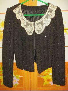 Thrift Clothes - Blink Jacket Crop tee