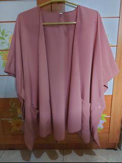 Thrift Clothes - Outerwear Dustypink