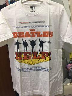 Uniqlo The Beatles t-shirt / kaos