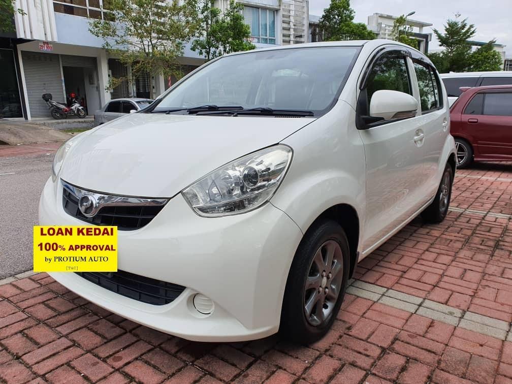2014 Perodua Myvi 1.3 (A) Muka 2K Loan Kedai