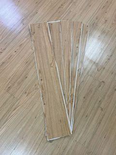 樂嫚妮樁木地板貼5片
