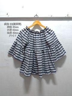 藍白條紋造型上衣