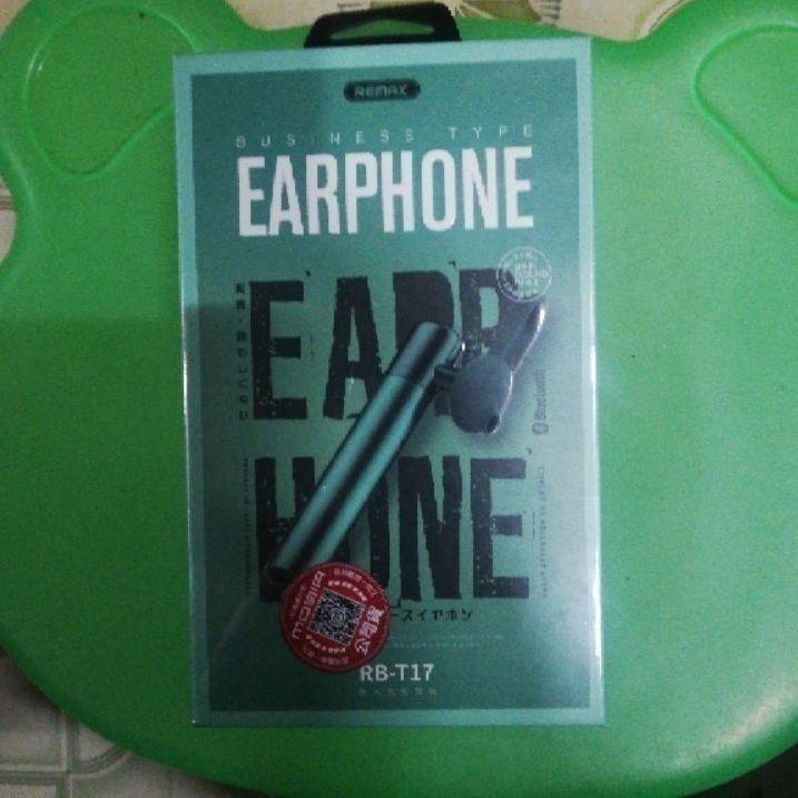 單耳藍芽耳機-翠綠色