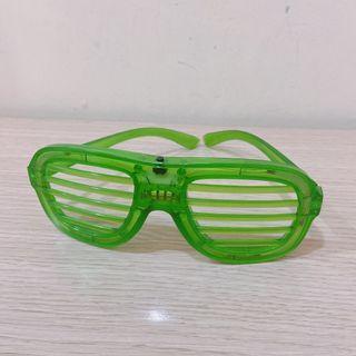 三段式百葉窗冷光眼鏡 派對尾牙 節日活動