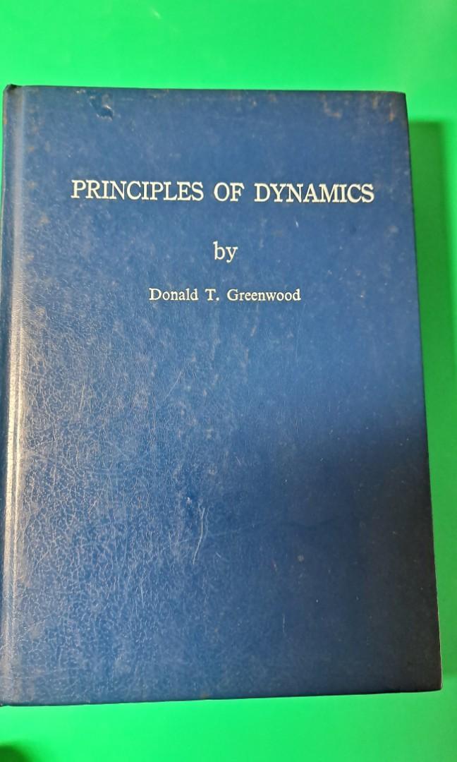 開學必備用書! PRINCIPLES OF DYNAMICS by Donald T. Greenwood