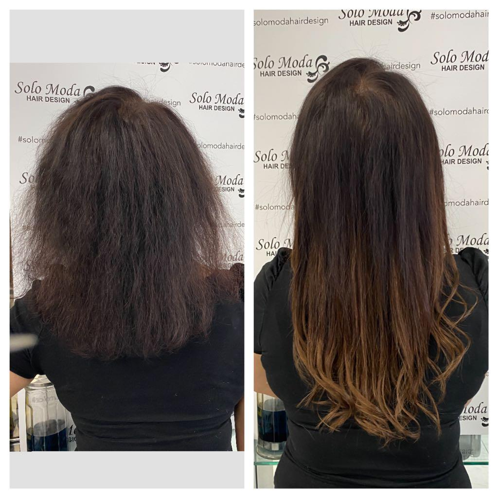 Affordable Tape in / MicroLink Hair Extension Service