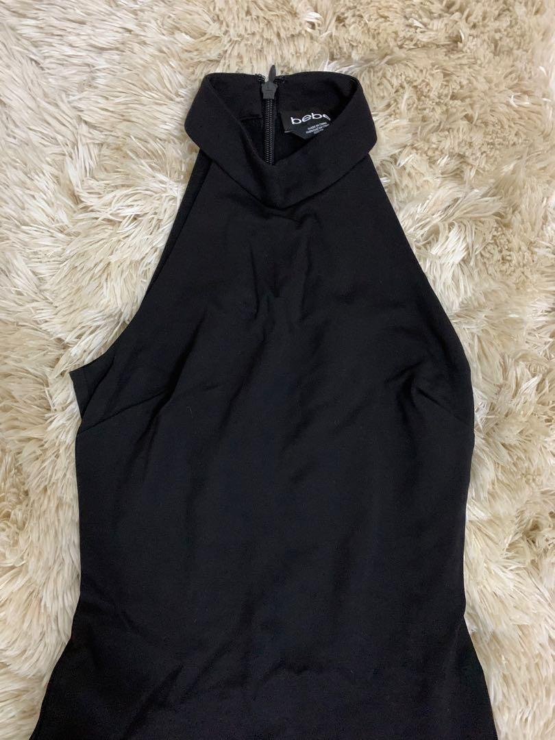 Bebe black dress xxs