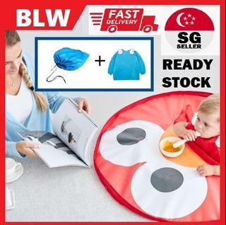 BLW Baby placeMat Cover Tray Waterproof Highchair Anti dirty mat