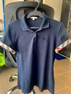 Burberry polo shirt for ladies