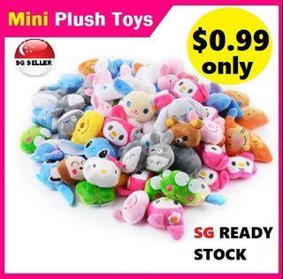 Claw Machine Mini Doll Cartoon Grabber Dolls Plush Kids Boy Girl Toy