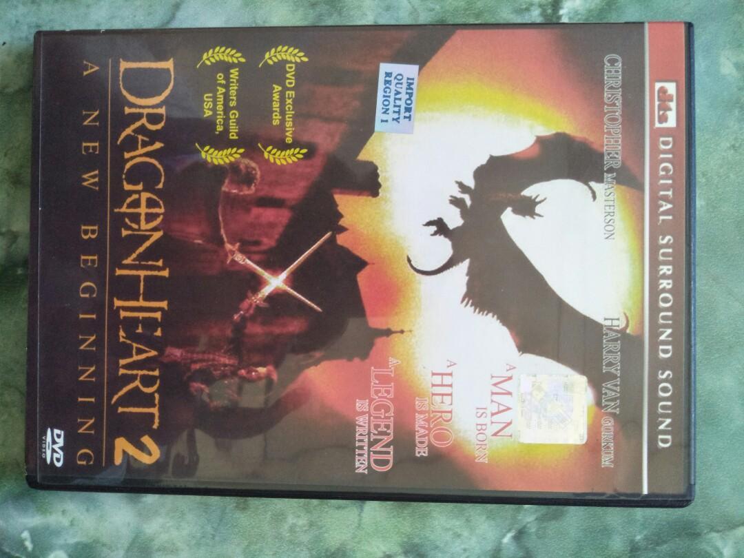 Dvd film dragon heart 2