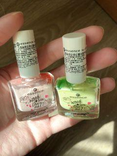 Essence❤️春天限定色指甲油粉色/粉綠色/近新