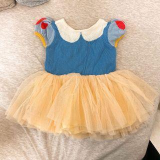 GAP BABY 全新(下水一次)3M白雪公主針織洋裝