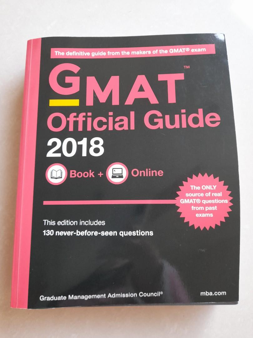 【GMAT】Official Guide 2018