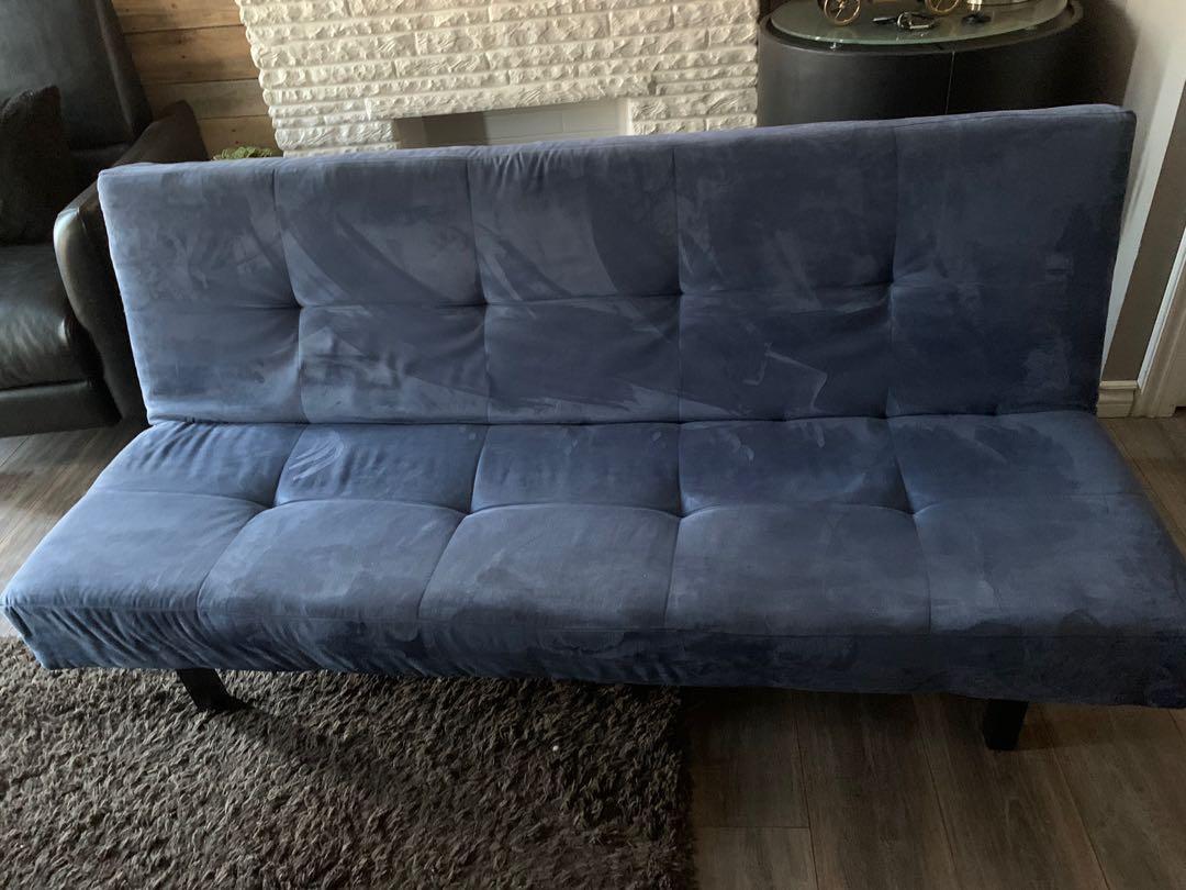 IKEA blue futon