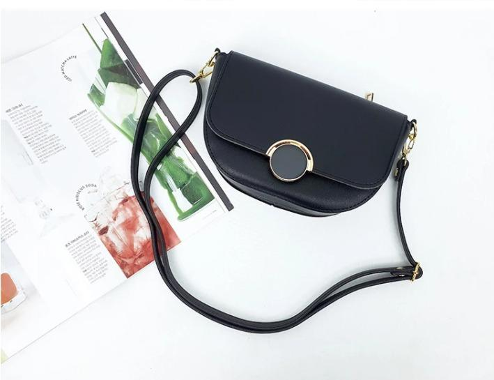 [JSK067] Shoulder Bag_Black/ Made In Korea