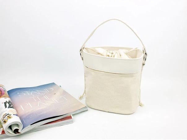 [JSK069] Bucket Bag_Ivory / Made In Korea