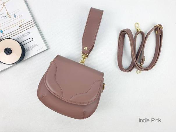 [JSK072] Shoulder Bag_Indi Pink / Made In Korea