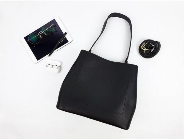 [JSK074] Shoulder Bag_Black/ Made In Korea