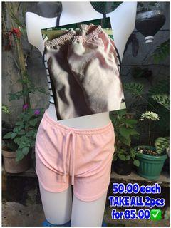 Light Pink Dolphin Shorts