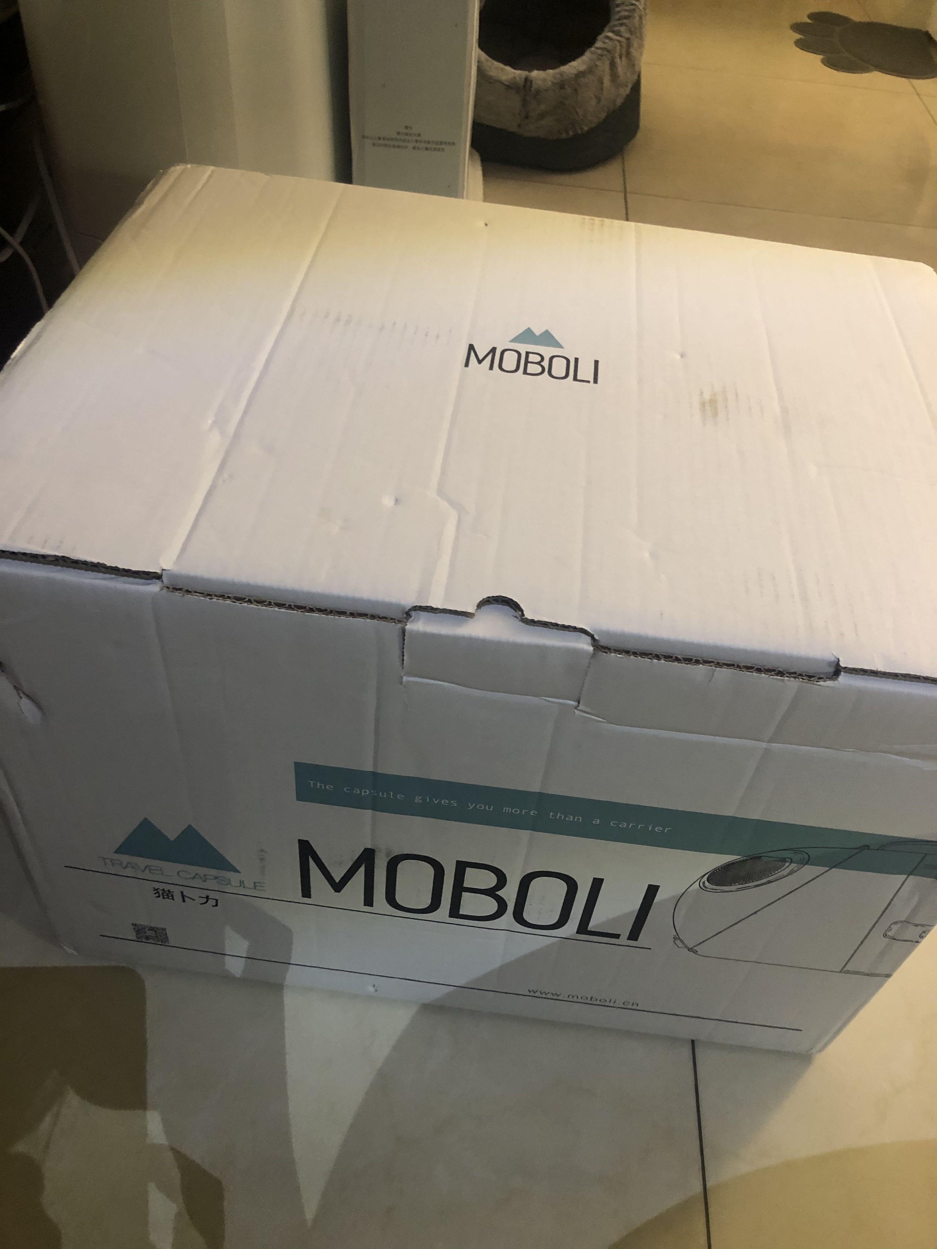 全新正品moboli,官網可查到資料,買回來未使用,因為體積很大,運費花了不少,限自取,2050