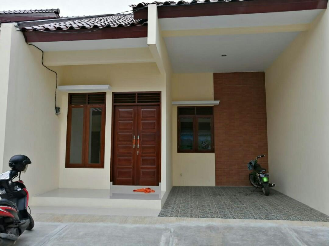 Rumah baru dalam Cluster di bambu apus cipayung jakarta timur