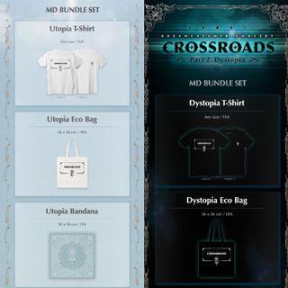 [sharing] dreamcatcher crossroads concert merch