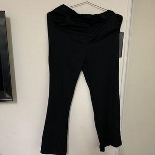 黑色落地褲