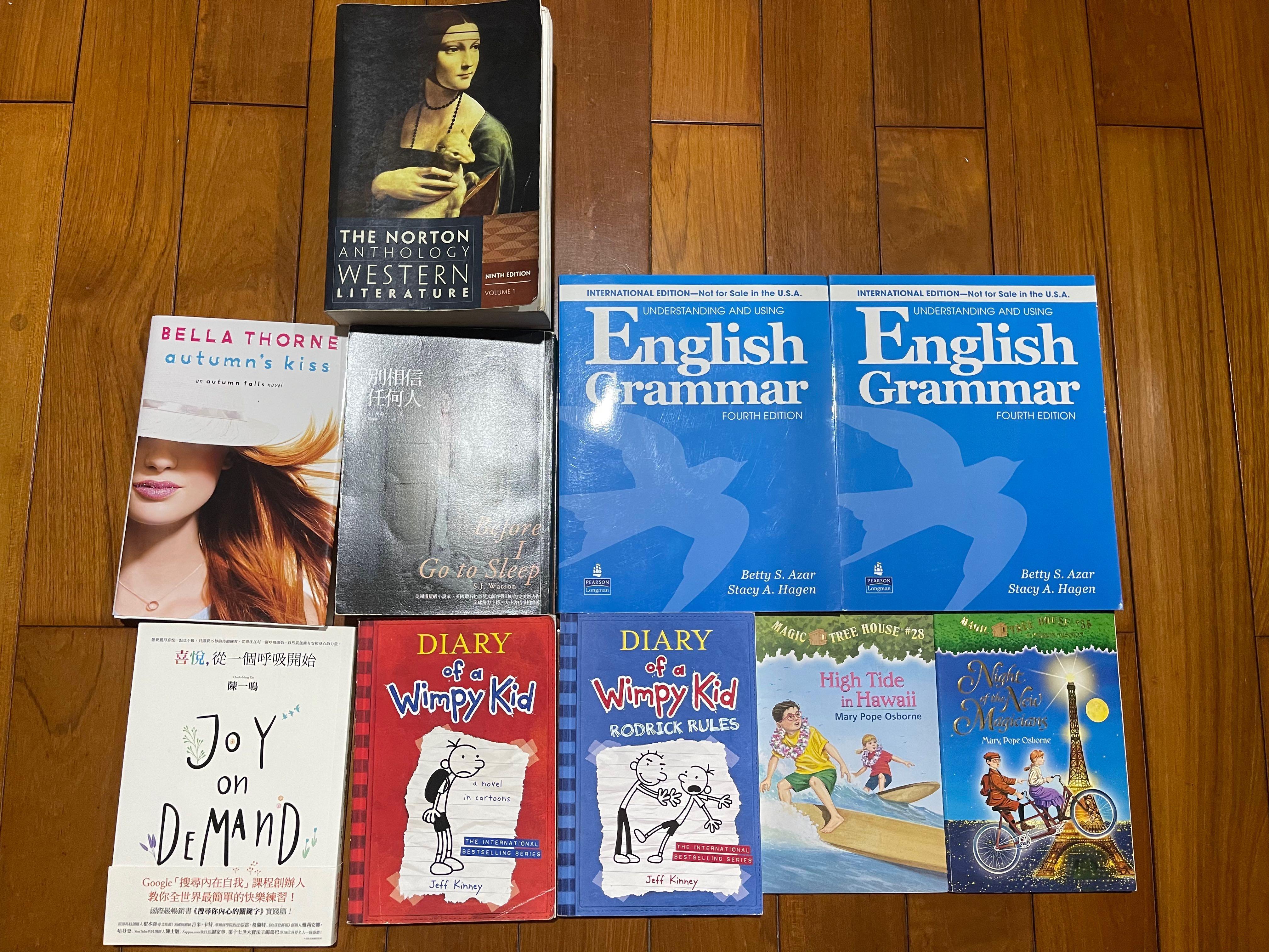 二手書、文法書 、童書