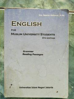 Buku english for muslim university