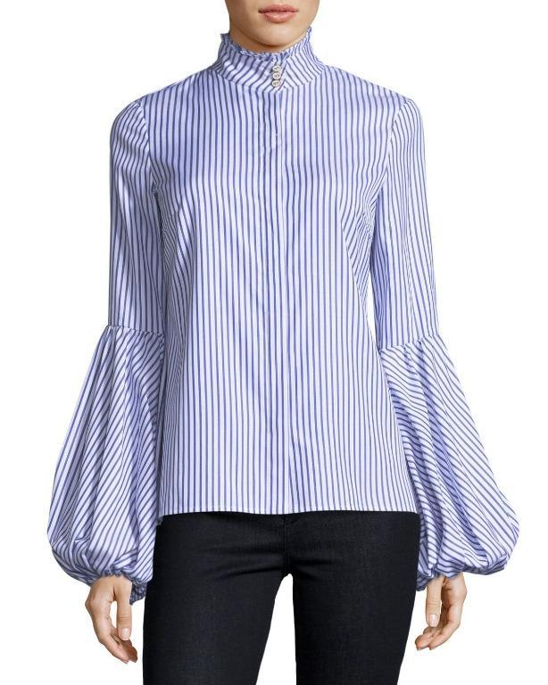 Caroline Constas Jacqueline blouse on sale!
