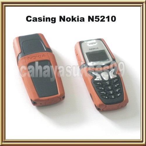Casing Nokia 5210 Model Standard Orange Chasing HP Nokia N5210 Jadul Case Cover Housing Handphone Jadoel Case Cover HP Vintage Super Best Quality
