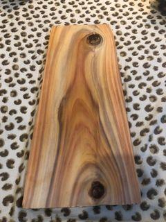 實木、DIY家具、木料  木材:亞杉 36.5x16.5x1.8