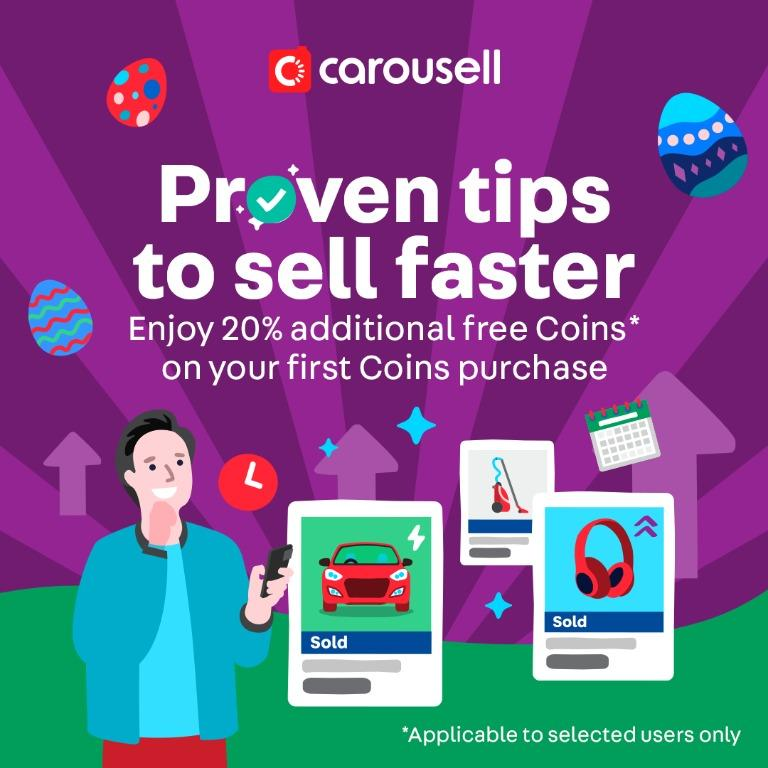 Enjoy 20% additional free Coins on your first Coins purchase (*T&Cs apply)