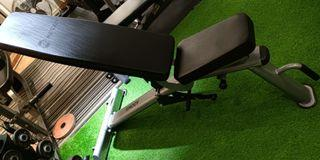 gym adjustable bench heavy duty