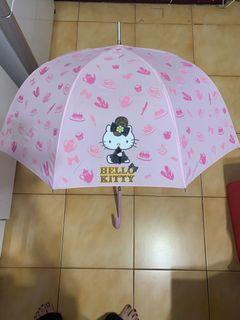 全新Hello kitty 粉紅色洋傘