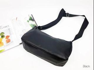 [JSK066] Shoulder Bag_Black / Made In Korea