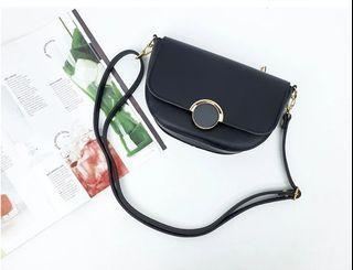 [JSK067] Shoulder Bag_Black / Made in Korea