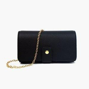 [JSK068] Chain Bag_Black / Made In Korea