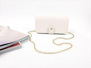 [JSK068] Chain Bag_Ivory / Made In Korea
