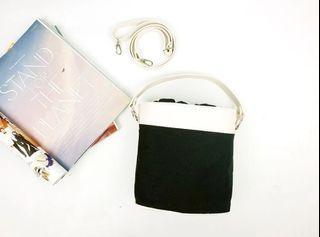 [JSK069] Bucket Bag_Black / Made In Korea