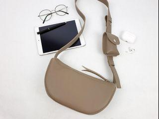 [JSK071] Shoulder Bag_Beige / Made In Korea
