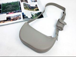 [JSK071] Shoulder Bag_Grey / Made In Korea