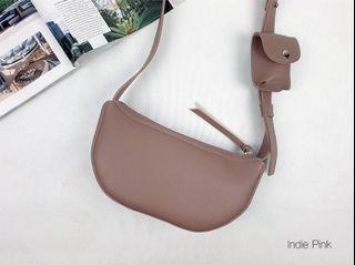 [JSK071] Shoulder Bag_Indi Pink / Made In Korea