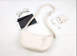 [JSK071] Shoulder Bag_Ivory / Made In Korea