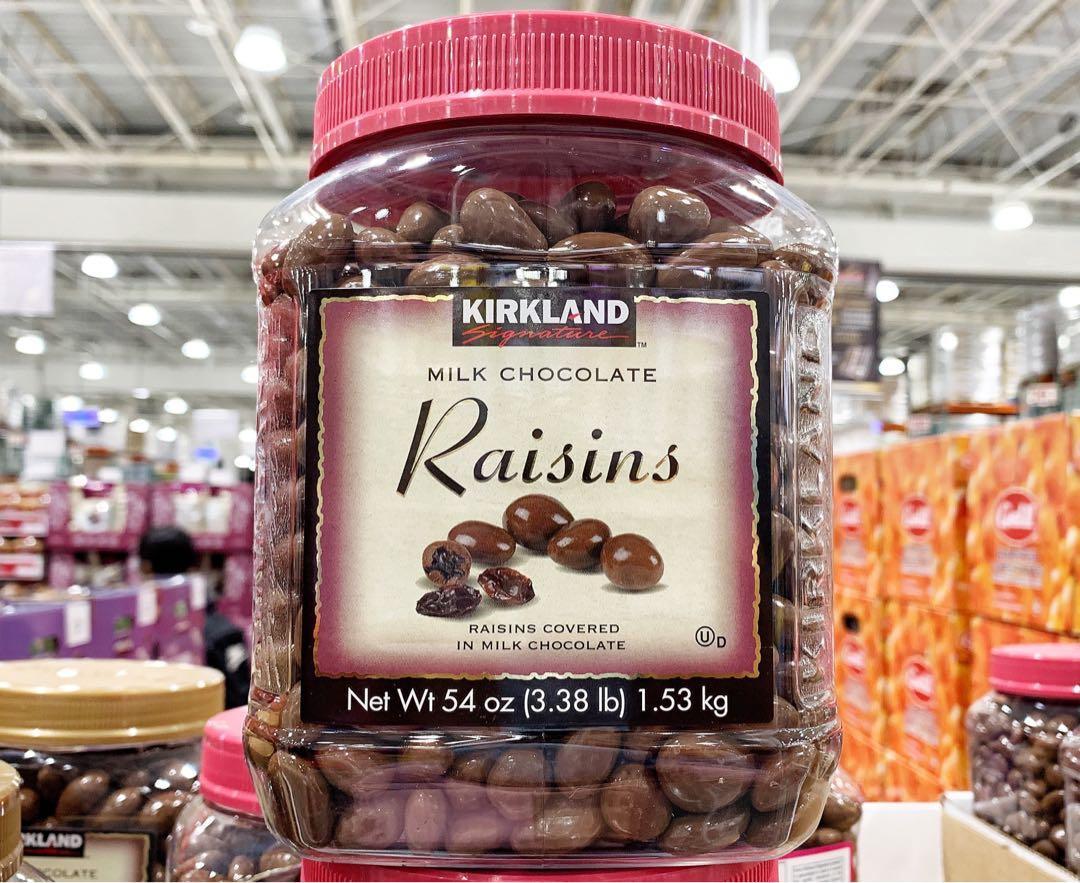 🍁KIRKLAND SIGNATURE科克蘭葡萄乾巧克力1.5KG