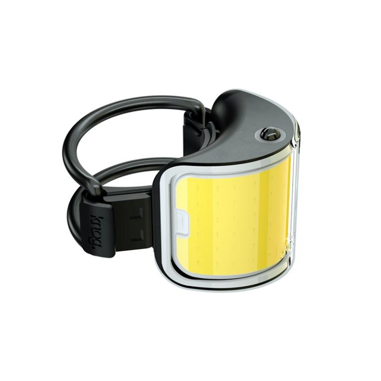 Knog Cobber 330度廣角前燈(酷柏/弧形夜車燈/單車照明燈/USB充電/腳踏車/澳洲Knog+)