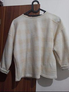 Sweater cream white