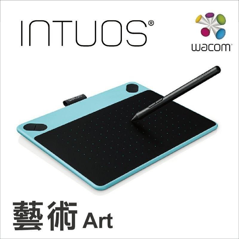 【二手】Wacom Intuos Art 藝術創意觸控繪圖板-時尚藍(小)